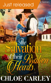 The Salvation of their Broken Hearts, by Chloe Carley - Just Released