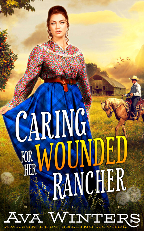 Caring for Her Wounded Rancher, by Ava Winters